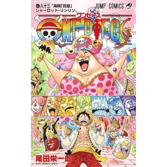 ONE PIECE vol. 83 - Edição Japonesa