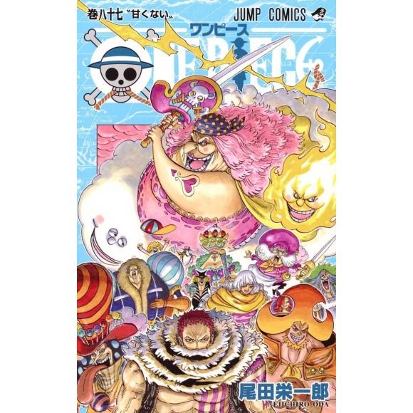 ONE PIECE vol. 87 - Edição Japonesa