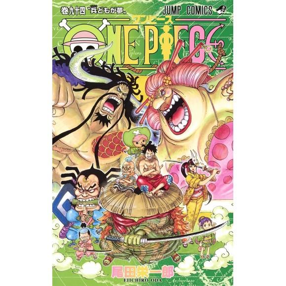 ONE PIECE vol. 94 - Edição Japonesa