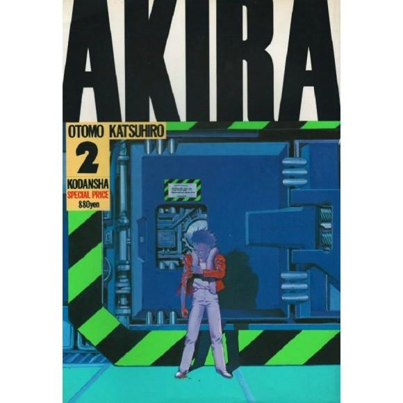 AKIRA vol. 2 - Edição Japonesa
