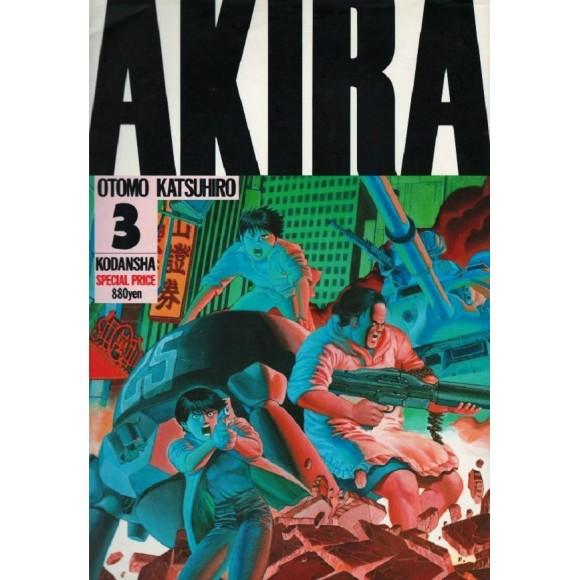 AKIRA vol. 3 - Edição Japonesa