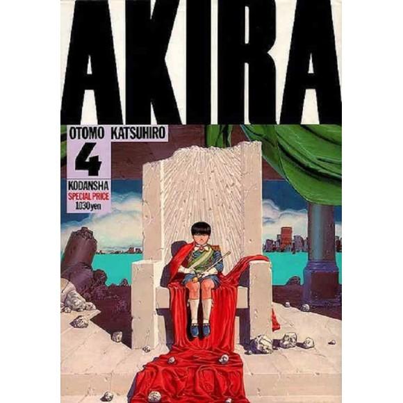 AKIRA vol. 4 - Edição Japonesa