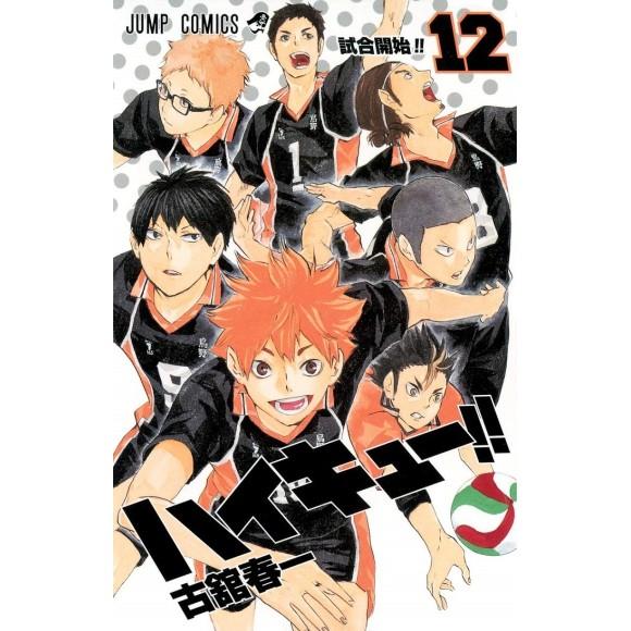 HAIKYUU!! vol. 12 - Edição Japonesa