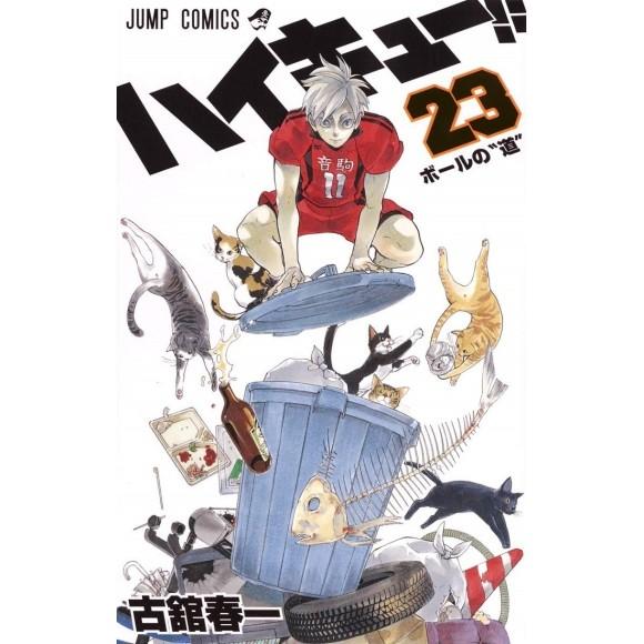 HAIKYUU!! vol. 23 - Edição Japonesa
